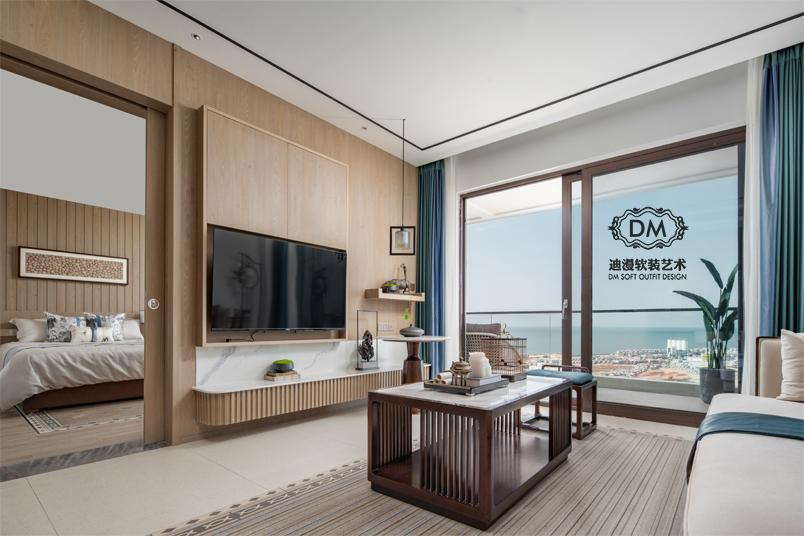 海南三亚乐东龙栖湾新半岛酒店度假村套房样板间
