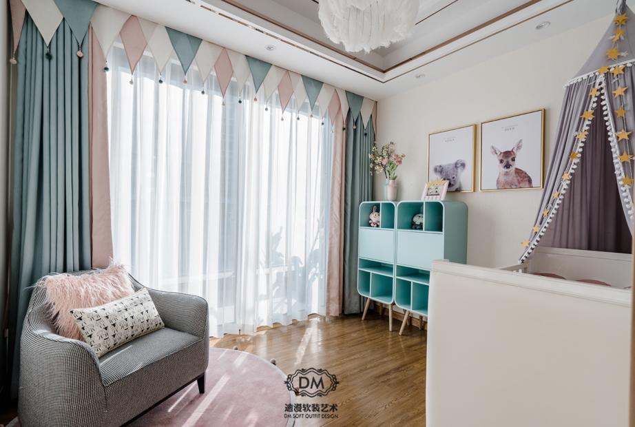 上海定做窗簾公司,上海窗簾布藝市場在哪里?    【迪漫軟裝】