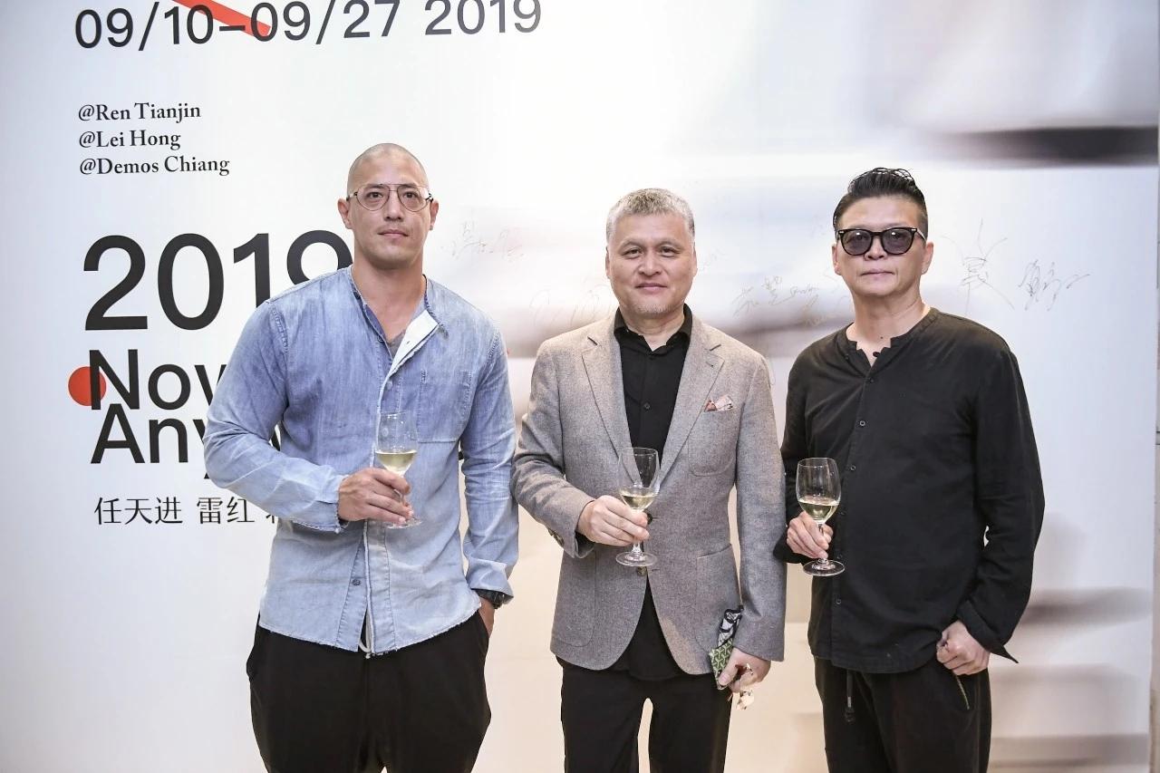 无间设计吴滨先生策划邀请任天进/雷红/蒋友柏三位艺术家艺术联展