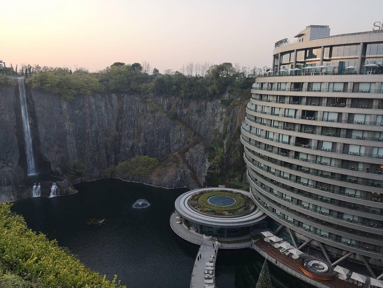 迪漫軟裝酒店設計組考察體驗上海佘山世茂深坑酒店活動